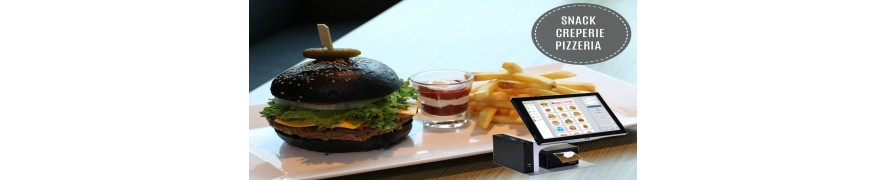 Caisse Enregistreuse Tactile Pour Fast-food / Snack / Pizzérias